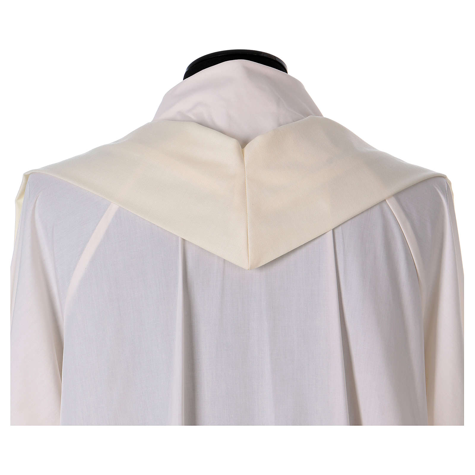 Pure Silk Catholic Chasuble with orphrey in silk 4