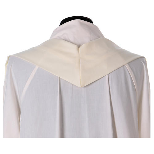 Pure Silk Catholic Chasuble with orphrey in silk 5