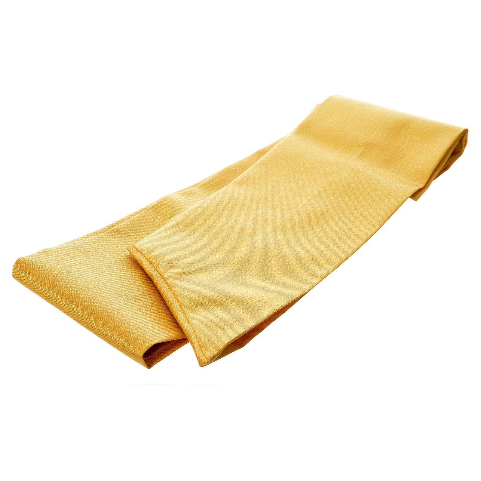 Casula oro tessuto 80% lana 20% lurex XP ostensorio spighe 4