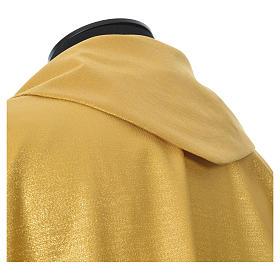 Casula oro tessuto 80% lana 20% lurex XP ostensorio spighe s5