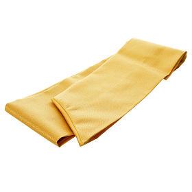 Casula oro tessuto 80% lana 20% lurex XP ostensorio spighe s6