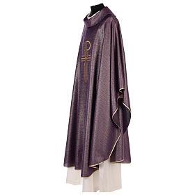 Casulla brillante 100% pura lana virgen bordado XP s4