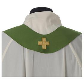 Ornat kość słoniowa eucharystia poliester s9