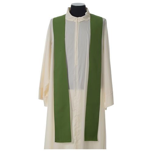 Ornat kość słoniowa eucharystia poliester 8