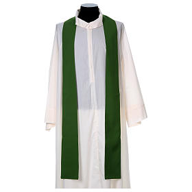 Liturgical chasuble with cross in 4 colours s6
