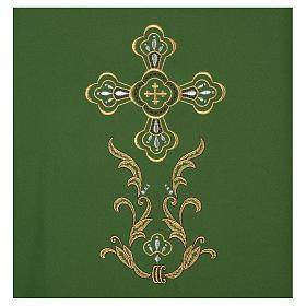 Casulla bordada cruz 4 colores s3
