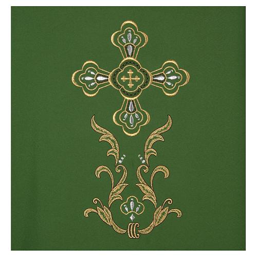 Casula bordado cruz 4 cores 3
