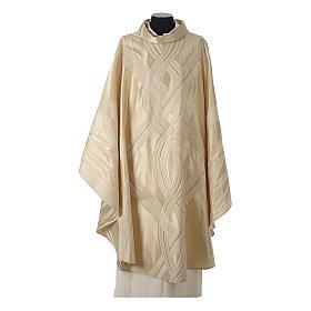 Casula lana seta lurex intreccio s5