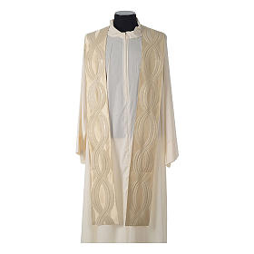 Casula lana seta lurex intreccio s12