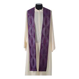 Casula lana seta lurex intreccio s13