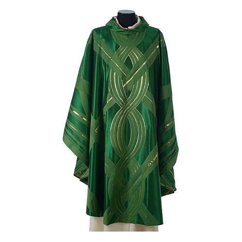 Casula lana seta lurex intreccio 3