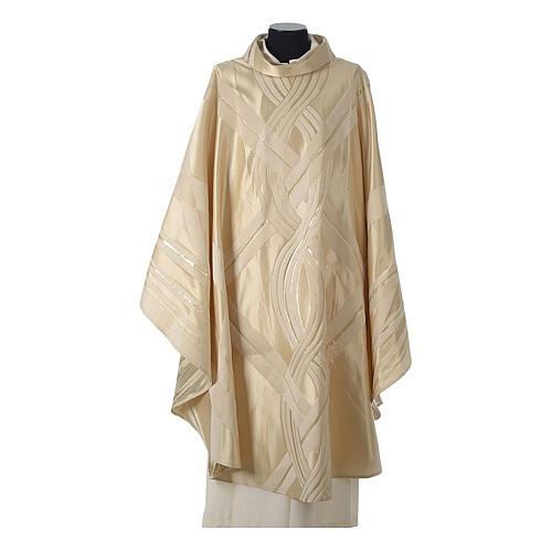 Casula lana seta lurex intreccio 5