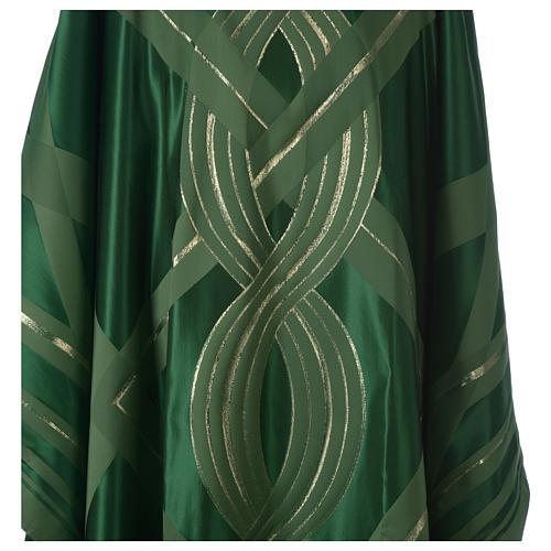 Casula lana seta lurex intreccio 7