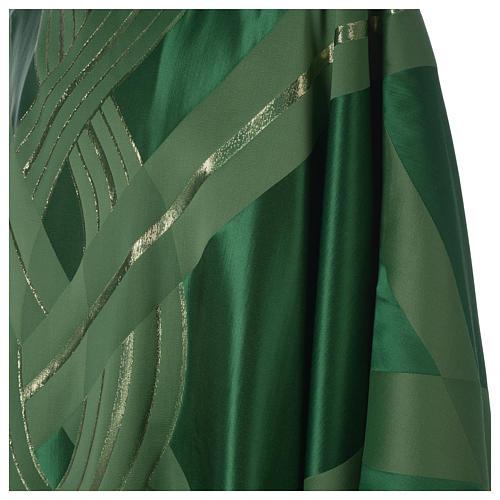 Casula lana seta lurex intreccio 8
