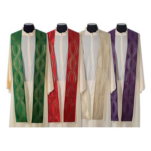 Casula lana seta lurex intreccio 9