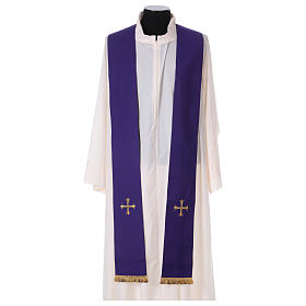 Chasuble liturgique laine 4 couleurs s4
