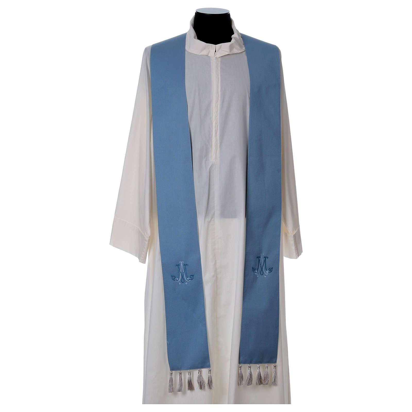 Chasuble Mariale laine et soie 4