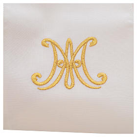Chasuble mariale pure laine s7