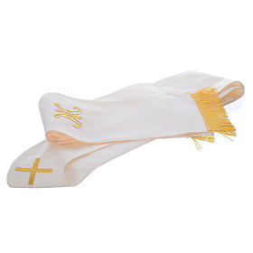 Marian chasuble in pure wool s6