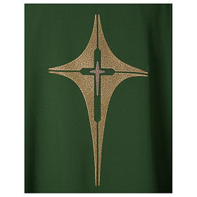 Chasuble croix stylisée 100% polyester s2