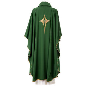 Chasuble croix stylisée 100% polyester s3