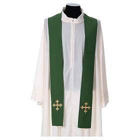 Chasuble croix stylisée 100% polyester s4