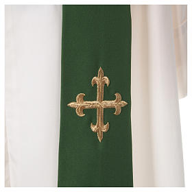 Chasuble croix stylisée 100% polyester s5
