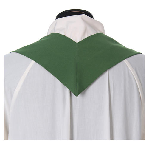 Chasuble croix stylisée 100% polyester 6