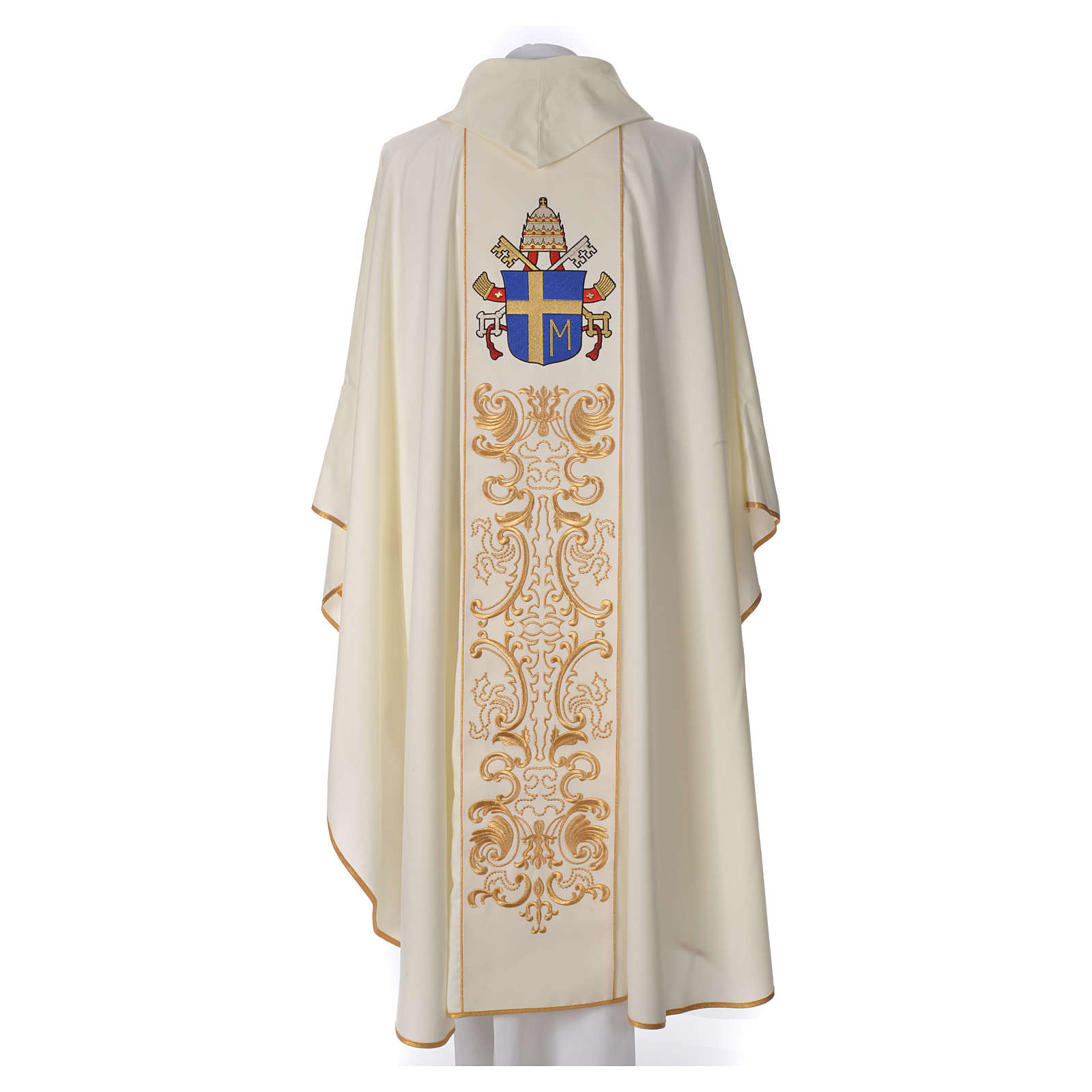 Casula 80% poliestere 20% lana Giovanni Paolo II 4