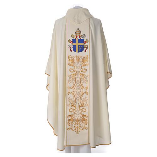 Casula 80% poliestere 20% lana Giovanni Paolo II 2