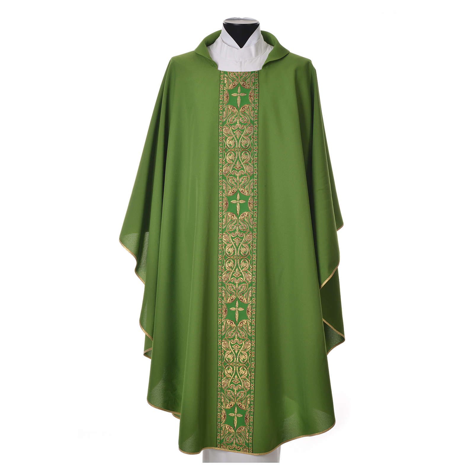 Chasuble 100% polyester golden embellishments 4