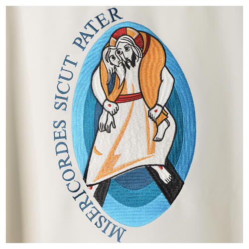 STOCK Pope Francis' Jubilee Chasuble with Latin writing 4