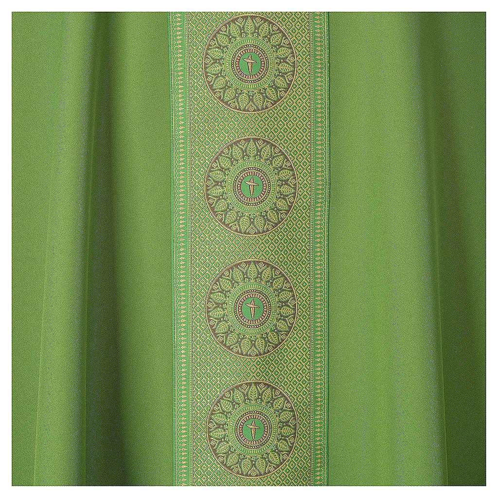 Chasuble polyester croix décors 4