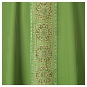 Chasuble polyester croix décors s7