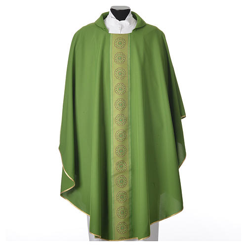 Chasuble polyester croix décors 6