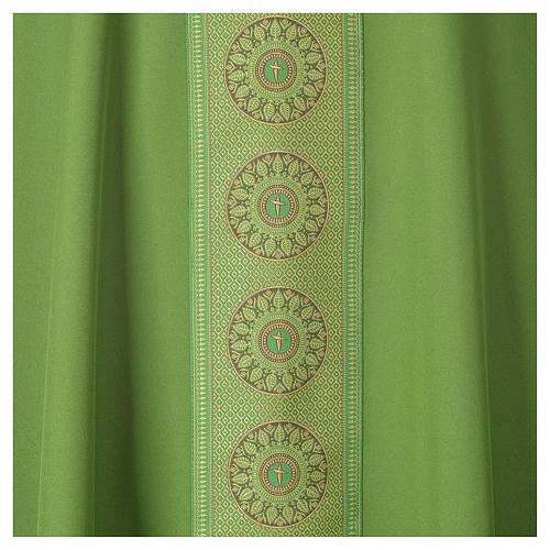 Chasuble polyester croix décors 7