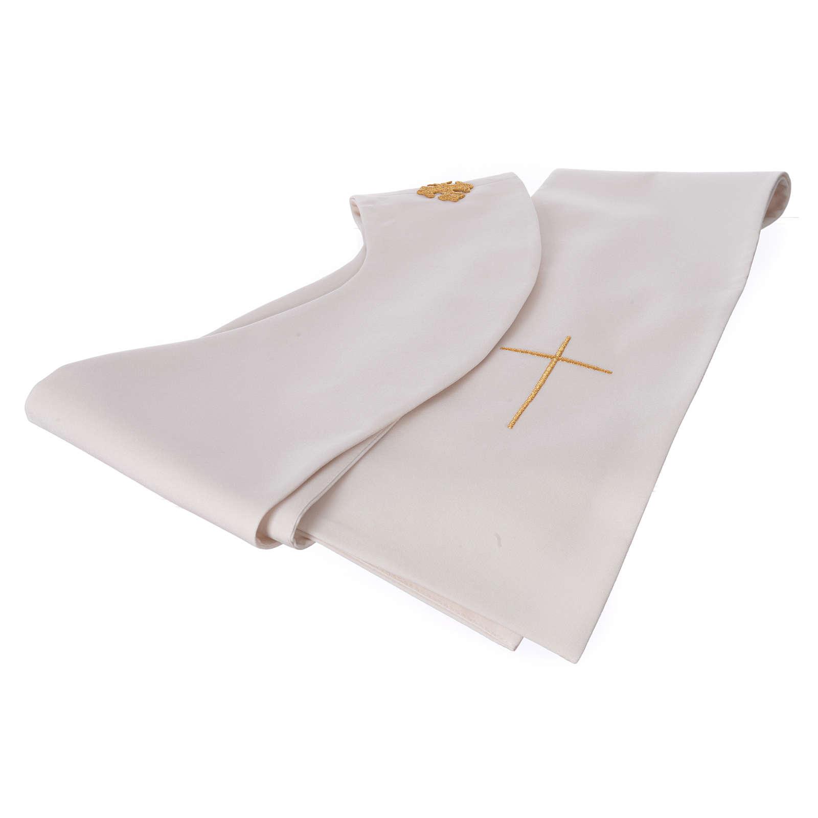 STOCK Chasuble Année Sainte avec impression polyester 100% 4