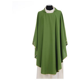 Chasuble liturgique simple 100% polyester s3