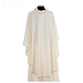 Chasuble liturgique simple 100% polyester s5