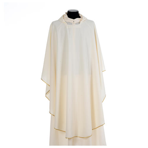 Chasuble liturgique simple 100% polyester 5