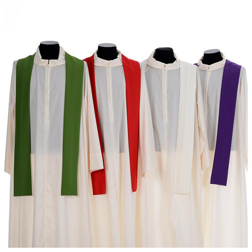 Chasuble liturgique simple 100% polyester 7