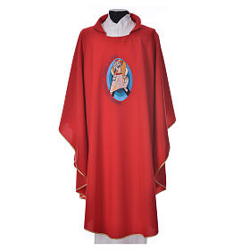 STOCK Pope Francis' Jubilee Chasuble with FRENCH writing s4