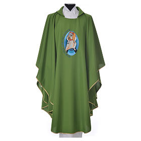 STOCK Pope Francis' Jubilee Chasuble with English writing s4