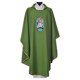 STOCK Pope Francis' Jubilee Chasuble with Spanish writing s6