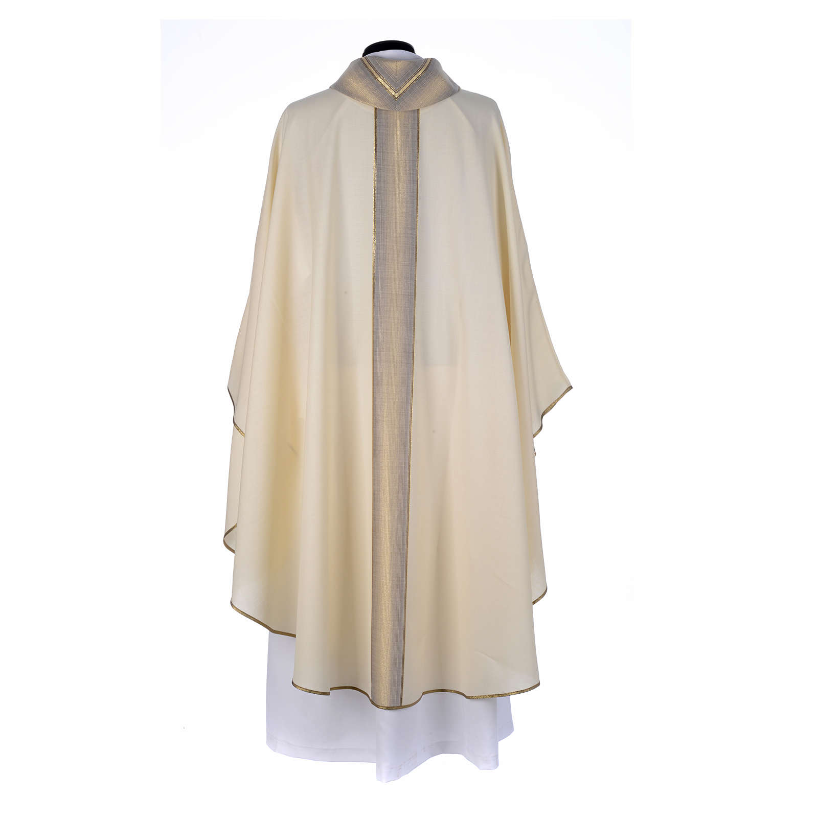 Priest Chasuble in pure thin wool 4