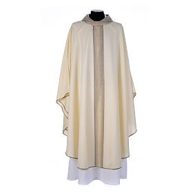 Priest Chasuble in pure thin wool s1