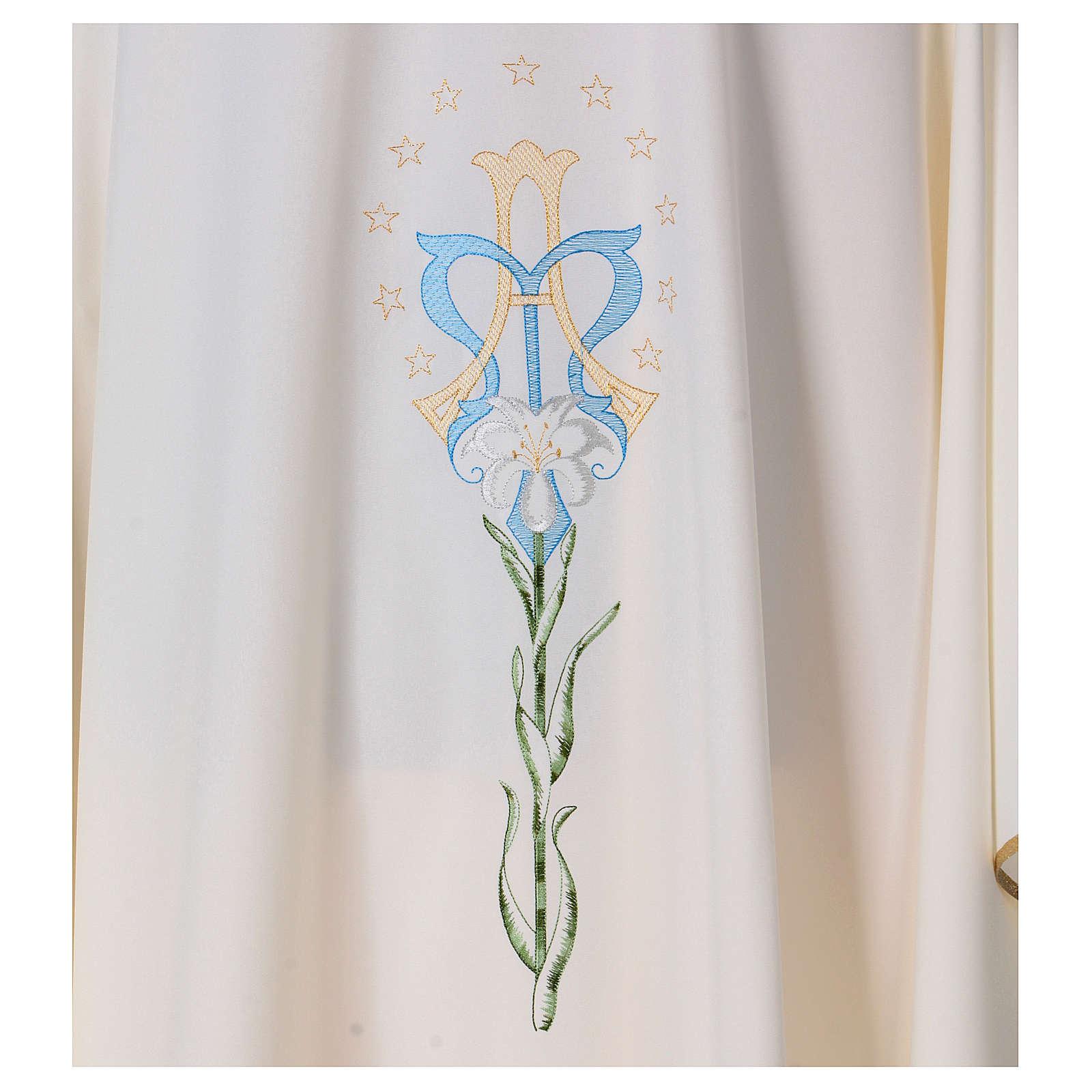 Marienkasel mit Lilie aus Polyeseter 4