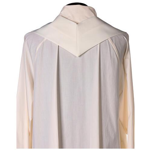 Chasuble en crêpe polyester avec rayons et symbole IHS 6