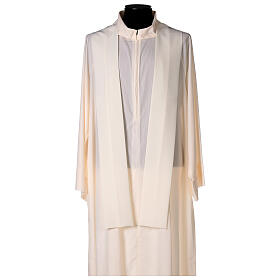 JHS Chasuble with rays in polyester crepe s5