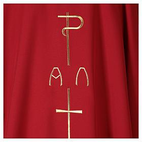 Ornat płótno poliester P krzyż jeleń s2